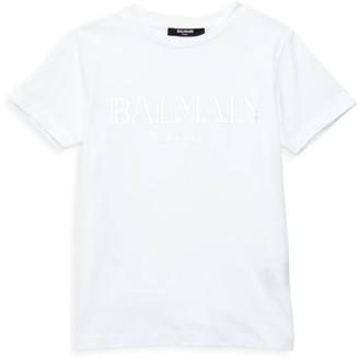 Balmain Little Boy's & Boy's Logo T-Shirt