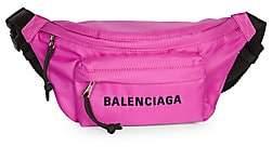 Balenciaga Women's Small Wheel Logo Belt Bag