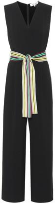 Diane von Furstenberg Belted faux-wrap jumpsuit
