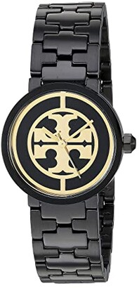 Tory Burch Reva Bracelet Watch - 28 mm (Two-Tone Silver/Gold - TBW4016) Watches