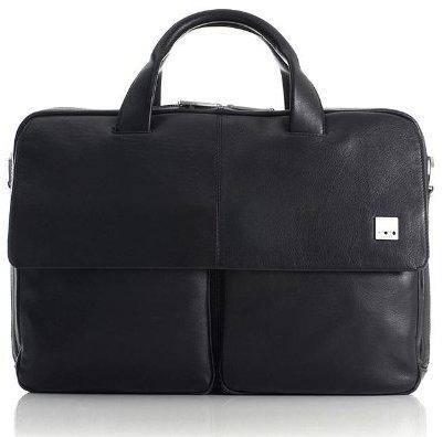 Knomo Warwick 15-Inch 54-252 Leather Laptop Bag