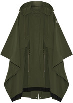 Moncler Pissenlit Hooded Shell Parka - Army green
