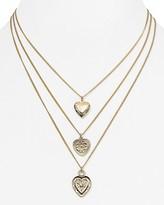 "Aqua Naya Tri-Heart Layered Necklace, 15-18"" - 100% Exclusive"