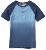 Lucky Brand Little Boys 4-7 Dip-Dye Henley Tee