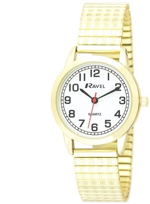 Ravel Womens Analogue Classic Quartz Connected Wrist Watch with Stainless Steel Strap R0232.12.2