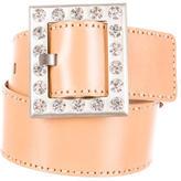 Michael Kors Embellished Leather Belt