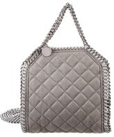 Stella McCartney Shaggy Deer Tiny Falabella Tote