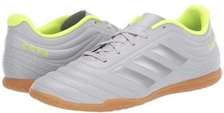 adidas Copa 20.4 IN (Grey Two/Matte Silver/Solar Yellow) Men's Soccer Shoes