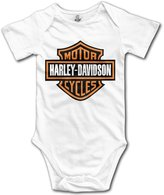 Uncle IVNeck Harley Davidson Logo Baby Infant Toddler Bodysuits
