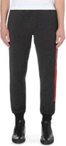McQ by Alexander McQueen melange cotton-jersey jogging bottoms