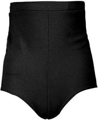 boohoo Basic High Waisted Hotpants