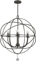 Horchow Wrought Iron Sphere Chandelier