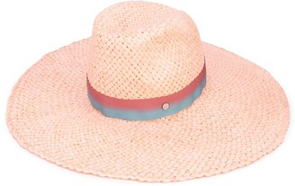 Maison Michel Ribbon-Embellished Sun Hat