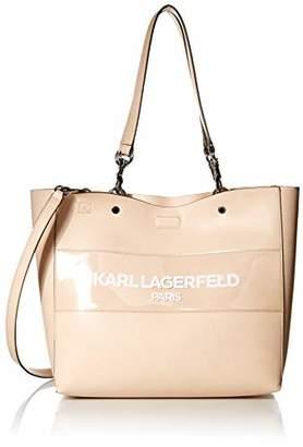 Karl Lagerfeld Paris Adele Applique Tote Bag