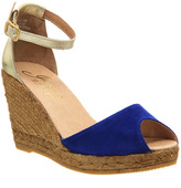 Gaimo For Office Susan Wedge Espadrilles