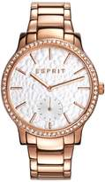 Esprit Women's 36mm Steel Bracelet & Case Quartz Analog Watch Es108112005