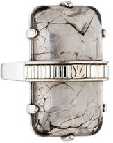 Louis Vuitton Rock My Word Cocktail Ring
