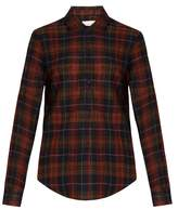 Simon Miller Adda plaid wool shirt