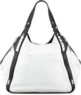 Oryany Libra Colorblock Hobo Bag, White Multi