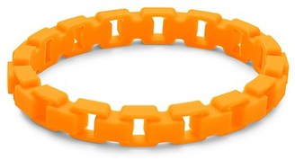Thompson Of London Fluorescent Rubber Box Link Bracelet