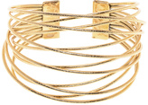Moon and Lola Gold Cliff Cuff Bracelet