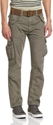 Schott NYC Men's Trbatle70pkr Trousers