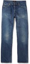 Chimala - Slim-fit Distressed Selvedge Denim Jeans