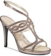 Caparros Heather Embellished Strappy Evening Sandals Women's Shoes