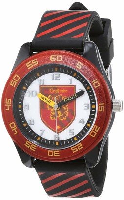 Harry Potter Boy's Analogue Quartz Watch with Silicon Strap HP9071ARG