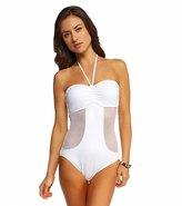 Seafolly Net Effect Bandeau One Piece Swimsuit 8115027