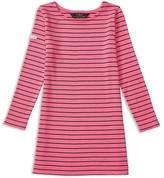 Ralph Lauren Girls' Ponte Stripe Dress - Sizes 2-6X