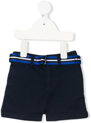 Ralph Lauren Kids Striped Belted Shorts