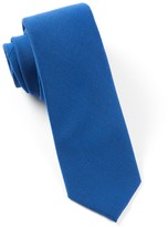 The Tie Bar Royal Blue Solid Wool Tie