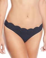 Stella McCartney Scalloped Broderie Anglaise Bikini Swim Bottom