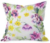 DENY Designs Garden Journal Throw Pillow