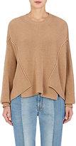 Stella McCartney Women's Rib-Knit Virgin Wool Asymmetric Sweater