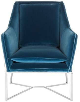 Safavieh Evrex Velvet Club Chair