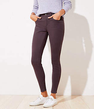 LOFT 5 Pocket Sateen Leggings in Curvy Fit