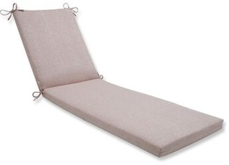 August Groveâ® Indoor/Outdoor Sunbrella Chaise Lounge Cushion August GroveA Fabric: Chartres Rose