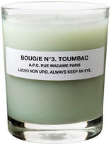 A.P.C. No3 Toumbac Scented Candle