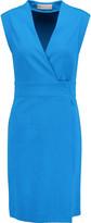 Emilio Pucci Wrap-effect twill dress