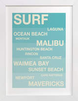 Minted Surf Hot Spots Children's Custom Art Print