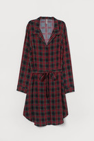 H&M Shirt Dress with Tie Belt - Red