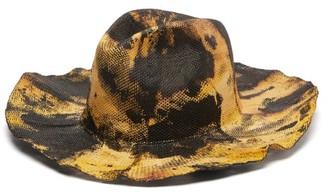 Reinhard Plank Hats - Boncia Melange Parasisal Hat - Brown Multi