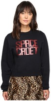 House of Holland Space Cadet Foil Print Sweatshirt