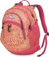 High Sierra Fatboy Electric Leopard Backpack