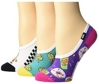 Vans X The Simpsons Family Canoodles ((The Simpsons) Multi) Women's Crew Cut Socks Shoes