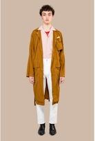 CMMN SWDN Dale Garment Dyed Lightweight Coat Ocra