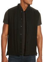 Kenneth Cole New York Quilted Wool Blend Vest