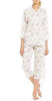 Lauren Ralph Lauren Floral Classic Pajamas